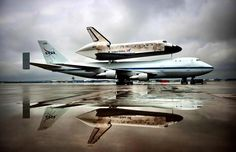 The Discovery left out in the rain...beautiful image.
