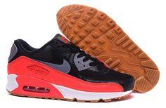 Nike Air Max 90 Men's Black Red 616730-025 2017