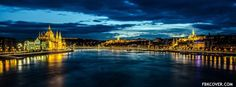 Download Budapest Danube  Facebook Cover for Free