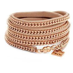 Women's Vita Fede Capri Wrap Bracelet ($250) ❤ liked on Polyvore featuring jewelry, bracelets, chunk jewelry, vita fede jewellery, leather jewelry, polish jewelry and leather wrap bracelet