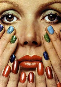 Catherine Deneuve / L'Officiel, 1974 by Guy Bourdin