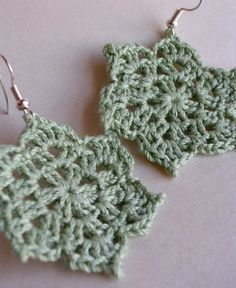 Crotchet earings