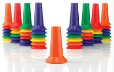 Rainbow Cones (Set of 48) $70
