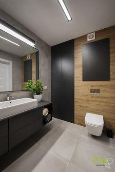 #essa #architektwnętrz #bathroom #łazienka #interiordesign Bathroom Lighting, Bathtub, Interior Design, Mirror, Furniture, Home Decor, Bathroom Light Fittings, Standing Bath, Nest Design