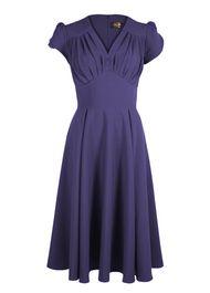 So Foxy  Dress - Plum via 20thcenturyfoxy.com