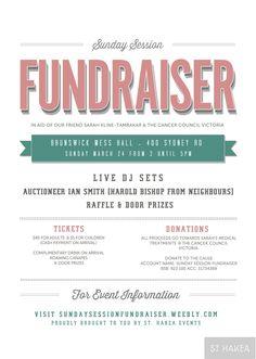 fundraiser flyers template