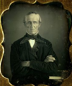 6th plate daguerreotype elderly man with strong chin | Flickr - Photo Sharing!