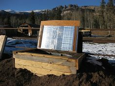 High Mountain Horse: Insulated Water Trough for winter, idea