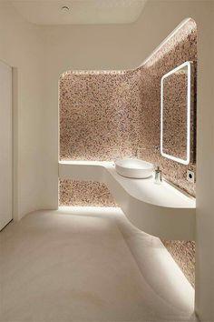 Messe – Bavaria Lounge – Sanitary ladies with the finest mosaic – Tina Aßmann Münc … – diy Interior design Bathroom Interior Design, Modern Interior, Diy Interior, Modern Luxury, Interior Lighting Design, Bathroom Lighting Design, Interior Shutters, Modern Lighting Design, Beautiful Bathrooms
