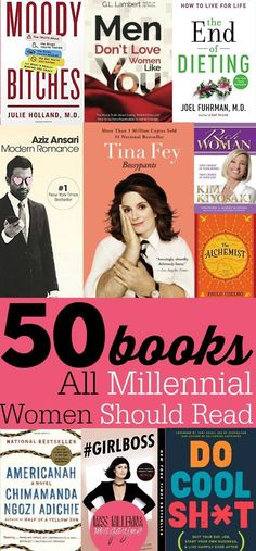 This list have been hand-picked by the Editor-in-Chief of Miss Millennia Magazine, Jasmine Watts. And the list will entertain you as well as help you grow and learn more about this whole adulting t..