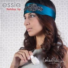 the LUCILE headband and Essie's 'allure' nail polish