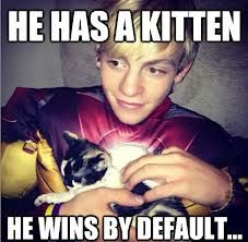 He wins by default!... #RossLynch