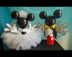 Hot Pink Minnie Mouse Centerpiece | Etsy Minnie Mouse, Mickey Y Minnie, Pink Minnie, Bridal, Disney, Hot Pink, Centerpieces, Mini, Etsy