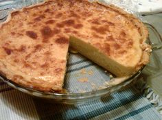 Easter Rice Pie - I used to have this when I was a kid. Always loved it - must make for this year.