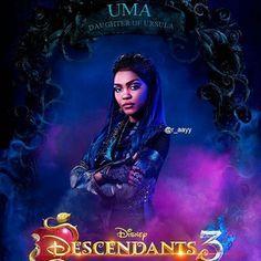 or - Heidi Vazquez Disney Descendants Dolls, Descendants Characters, Disney Descendants 3, Descendants Cast, Cameron Boyce, Zombie Disney, Disney Love, Ursula, China Anne Mcclain