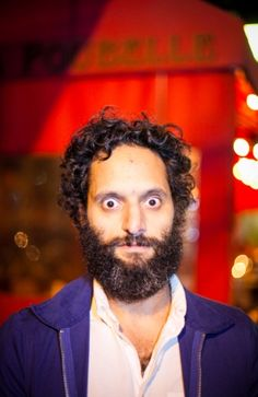Jason Mantzoukas (born December 18, 1972. Nahant, MA) is an American actor, comedian, and writer. He is best known for his recurring role as Rafi in the FX comedy series The League and co-starring alongside Sacha Baron Cohen in The Dictator.