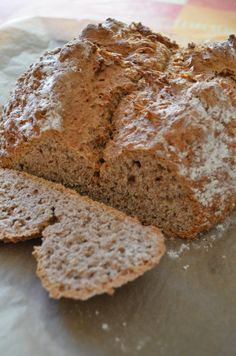 Irish Brown Soda Bread recipe - I just made this today and Andrew approves! This recipe is legit and delish! :)