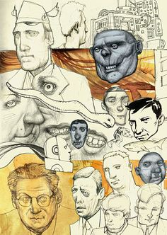 New Postcard: Sketchbook Montage
