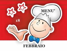 TUTTI INSIEME: 18 febbraio menù