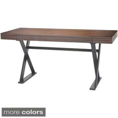 Shop for Aurelle Home Wood Contemporary Writing Desk. Get free shipping at Overstock.com - Your Online Furniture Outlet Store! Get 5% in rewards with Club O!