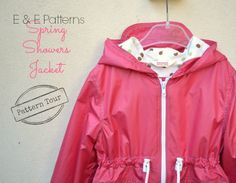 dotta.: Pattern Tour: Spring Showers Jacket by Elegance & Elephants