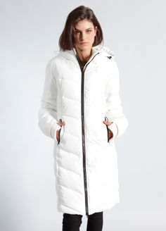 Fjord Long Down Coat