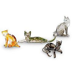 """Cats are loaded with """"purr-sonality. """" Whether the felines we adore are sassy, cuddly, shy or frisky, pay tribute to them all with this enchanting collection of collectible cat figurines. Beginning..."""
