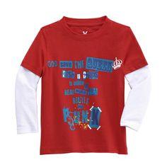 Boy's Long T-shirts: 100% Cotton Fabric.