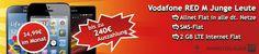#Vodafone RED M Junge Leute #LTE mit bis zu 240 EUR Auszahlung und TOP Smartphones