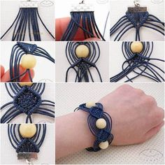 In this tutorial you will learn how their own hands to make a beautiful and very simple beaded bracelet that will decorate for you. What you need: beads cord scissors