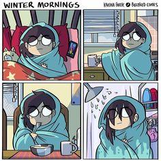 Winter mornings...