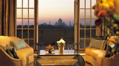 The Taj Mahal, as seen from The Oberoi Amarvilâs, Agra