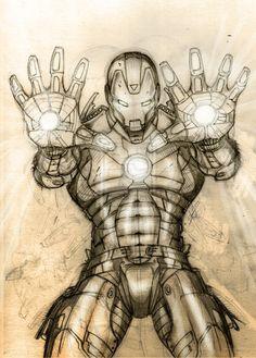 Iron Man /// Auction your comics on http://www.comicbazaar.co.uk