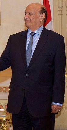 Abd Rabbo Mansour Hadi en 2015. (Yemen)