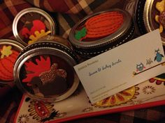 Fall and Halloween decorated Sweet or by SweetAndSaltsyScrubs, $15.00