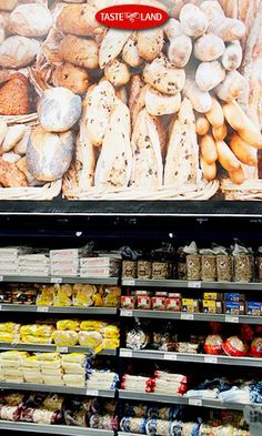 TASTE LANDs har alltid färskt bröd till oerhört bra priser.  Du finner även bröd från all världens hörn. www.tasteland.se