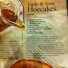 PD Hoecakes Brunch Recipes, Breakfast Recipes, Pancake Recipes, Hoecake Recipe, Scones, Southern Recipes, Southern Food, Southern Comfort, Southern Style