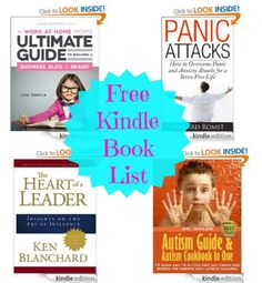 14 Free Kindle Books: A Work a Home Mom's Ultimate Guide, Gluten Free Diet for Kids, + More!