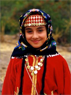 Turkish girl - Traditional clothes