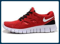 the latest bee4e a53a3 Nike Free Run+ 2 2012 Womens Running Shoes Red Black White