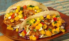 Baja Fish Tacos with Mango Salsa Recipe - Relish