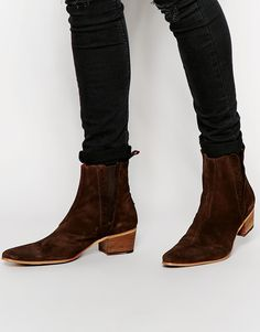 Image 1 of Jeffery West Suede Chelsea Boots