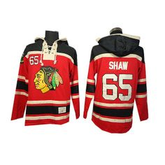 Chicago Blackhawks 65 Andrew Shaw Red Hoodies Old Time Hockey Jerseys