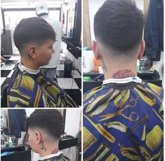 All sizes   _20180726_202520   Flickr - Photo Sharing! Shaved Nape, Bald Fade, Barber Chair, Boyish, Barber Shop, Buzz Cuts, Hair Cuts, Hair Beauty, Short Styles