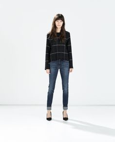MID RISE SKINNY JEANS-Jeans-WOMAN | ZARA United States
