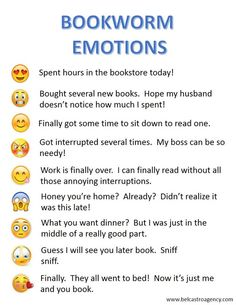 Bookworm Emotions...