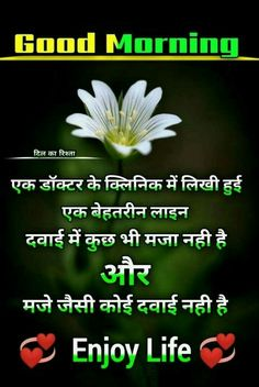 Comedy Quotes, Hindi Quotes, Good Morning Motivational Messages, Good Thoughts Quotes, Beautiful Morning, Life