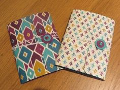 Pocket Notebook Tutorial, Including a Handmade Notebook. - YouTube