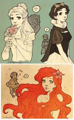 Princesses and Princes by *Sadyna on deviantART