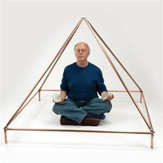 Wonder what a Copper Pyramid would do to meditation? Hmm